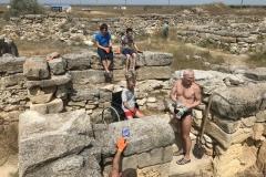 2017-07-15 Наши парни на настоящих археологических раскопках